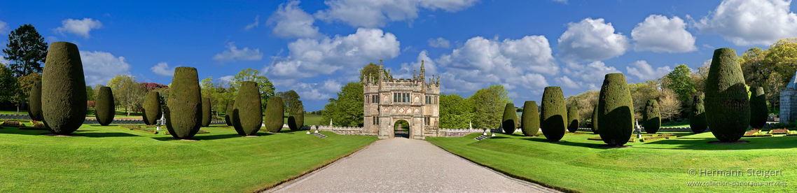 Lanhydrock House And Garden Collection Panorama Art
