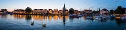 Abendstimmung im Lindauer Hafen