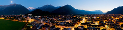 Abendstimmung in Interlaken