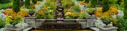 Italienische Blumen- und Wassertreppe auf der Insel Mainau