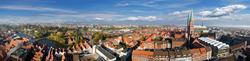 Rundblick von St. Petri über die Altstadt