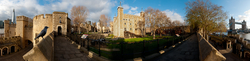 The White Tower and the Tower Bridge