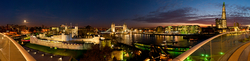 View of the Tower of London and Tower Bridge