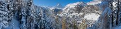 Winterstimmung bei Zermatt